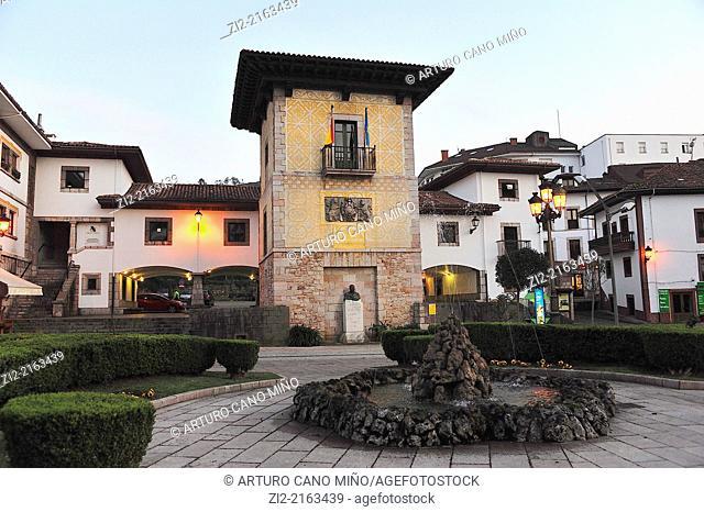 Pintu Palace, Cangas de Onis, Asturias, Spain