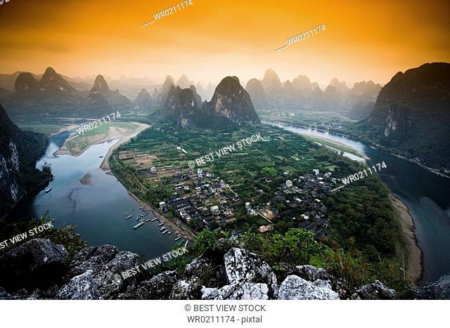 Xingping Town,Guangxi