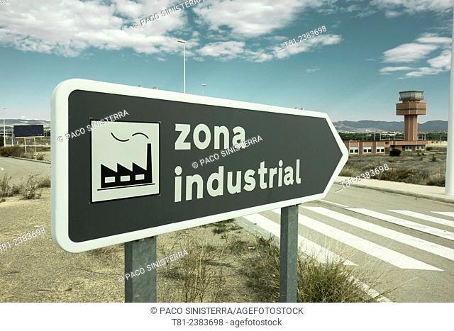 Poligono Industrial, factory, in LLiria Valencia