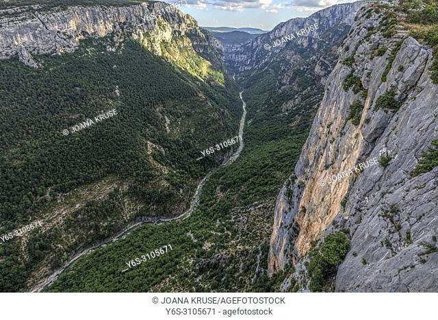 Verdon Gorge, Alpes-de-Haute-Provence, France, Europe