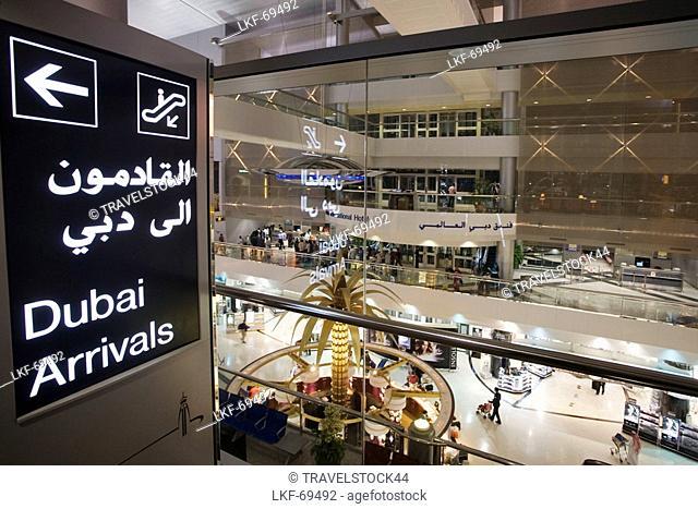 Dubai International Airport Dubai United Arab Emirates