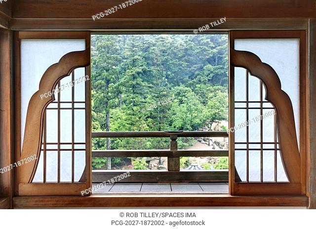 Japanese Temple Patio Doors