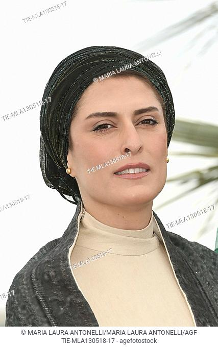 Behnaz Jafari during '3 Visages' photocall, 71st Cannes Film Festival, France - 13 May 2018