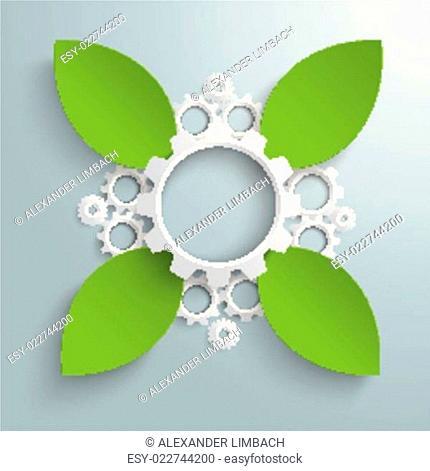 Green Industry Cross Leaves PiAd
