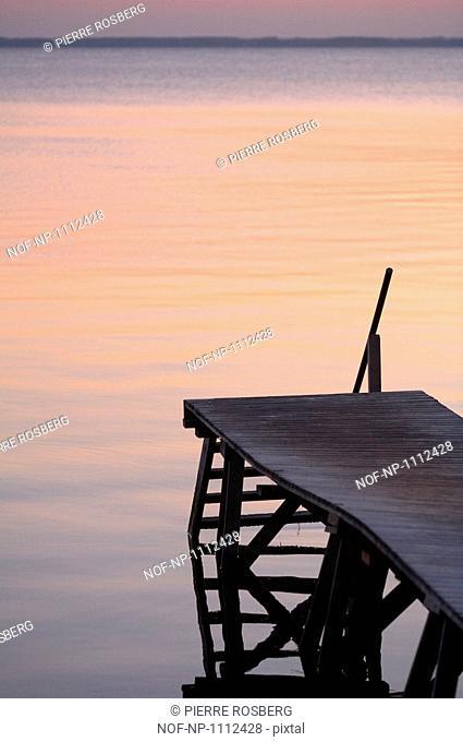A pier in Oland, Sweden