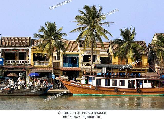 Riverside, Hoi An, Vietnam, Southeast Asia