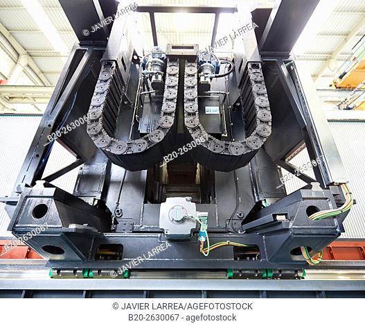 Machining Center. CNC. Design, manufacture and installation of machine tools. Bost Machine Tools Company. Asteasu. Gipuzkoa. Basque Country. Spain