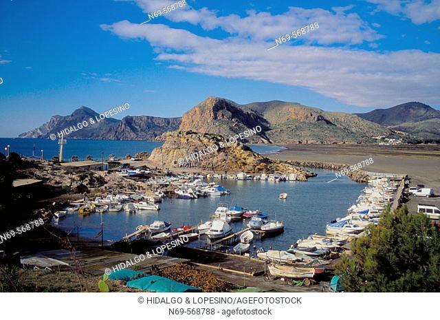 Portman. Lastre beach. Murcia province. Spain