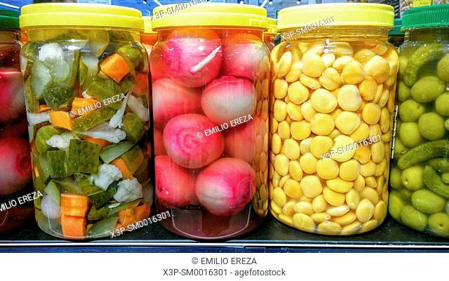 Varied pickles for sale