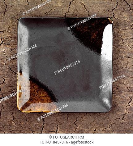 Unique square Ceramic Plate