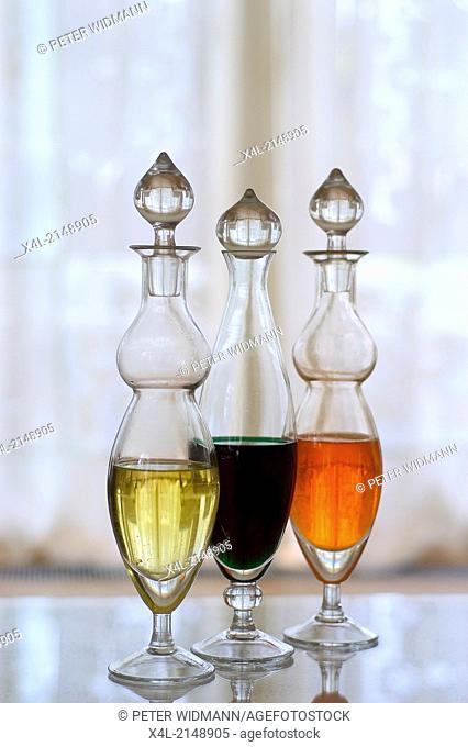 vinegar, oil