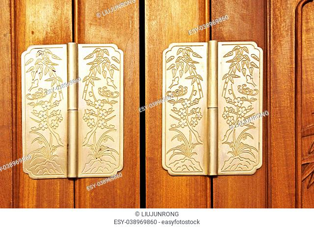 copper hinge, traditional Chinese style tools
