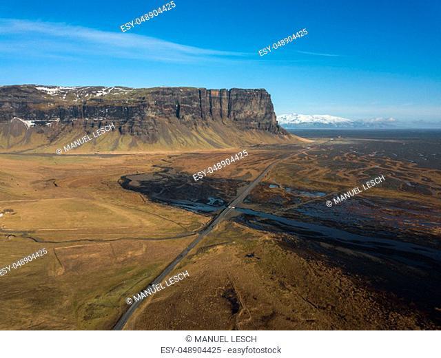 Lómagnúpur Mountain South Iceland
