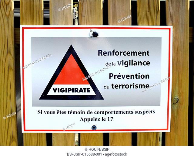 Vigipirate information
