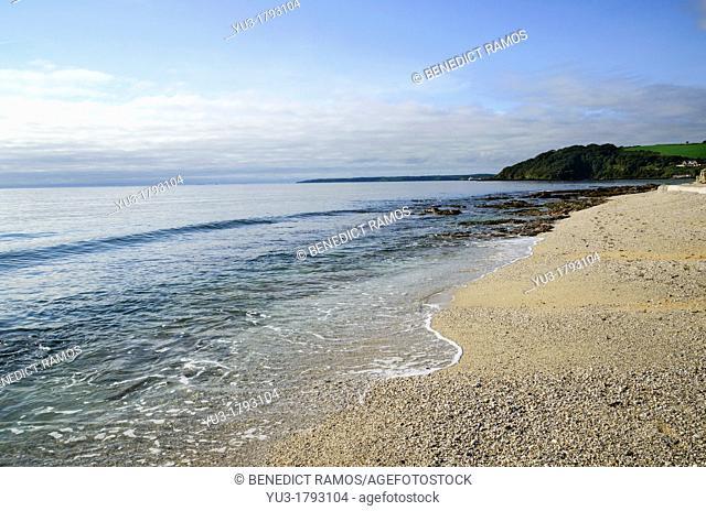 Gyllyngvase beach, Falmouth, Cornwall, England, UK