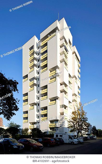 Apartment block in Kurt-Schumacher-Straße, Braunschweig, Lower Saxony, Germany