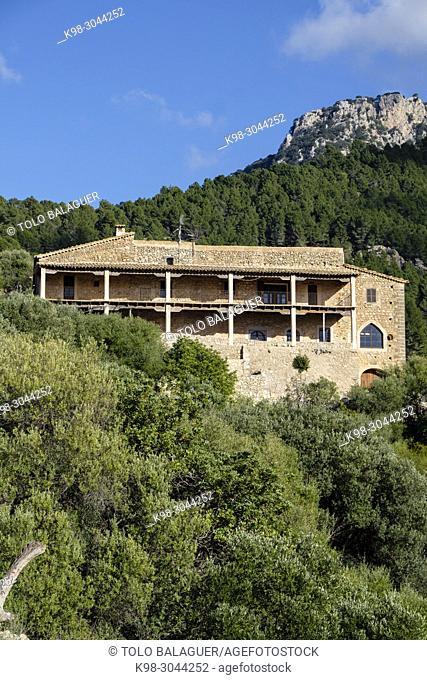 Son Serralta, Estellencs, Serra de Tramuntana, Mallorca, balearic islands, Spain