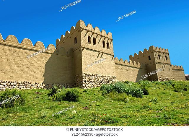 Photo of the reconstruction to the Hittite capital Hattusa 4