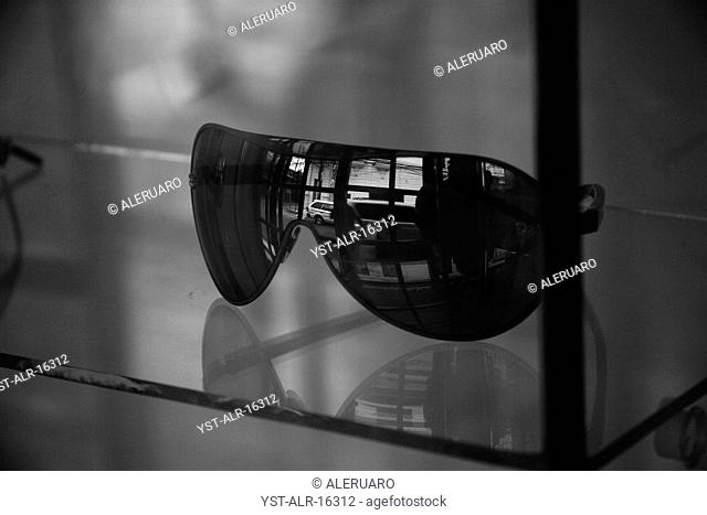 Sunglasses, reflection, sell, Bolivia