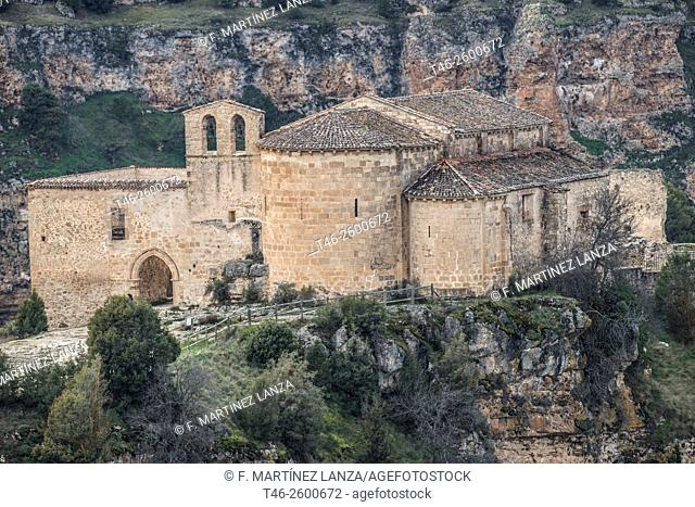 Ermita de San Frutos. National Monument since June 1931. The chapel was built in the twelfth century over a 8th Century Visigothic chapel