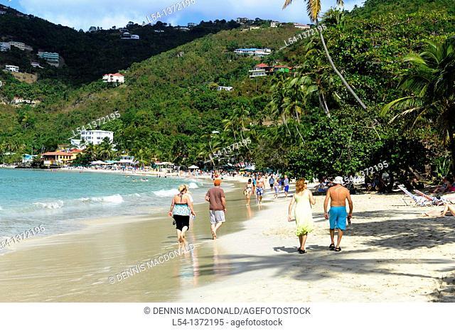 Cane Garden Bay Beach Tortola BVI Caribbean Cruise