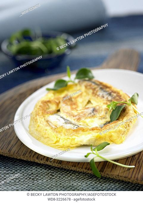 tortilla de boquerones / anchovies omelette
