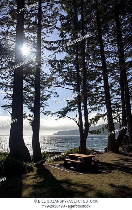French Beach Provincial Park - Sooke, near Victoria, Vancouver Island, British Columbia, Canada