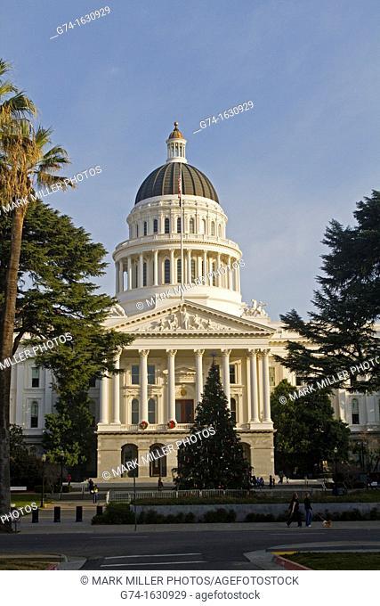 State Capitol Building Sacramento California USA