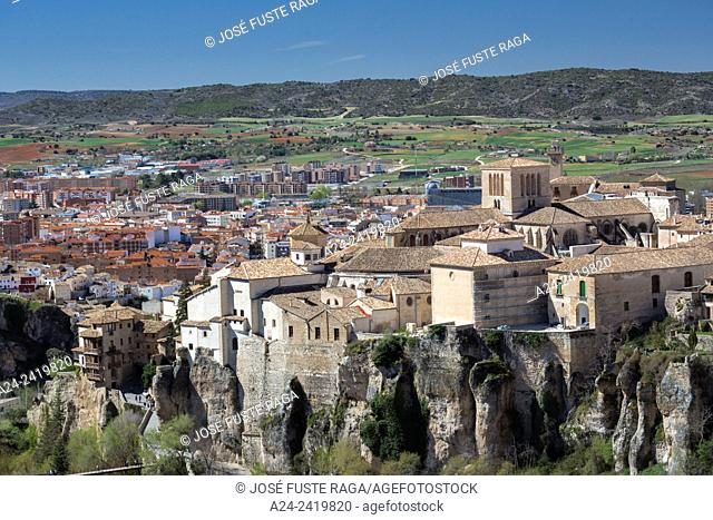 Spain , Cuenca City (W. H. ) , the hanging houses