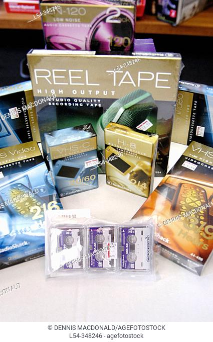 Magnetic tape storage products