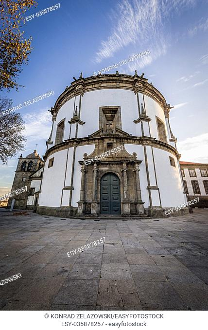 Church of Augustinians Monastery of Serra do Pilar in Vila Nova de Gaia city, Grande Porto subregion in Portugal