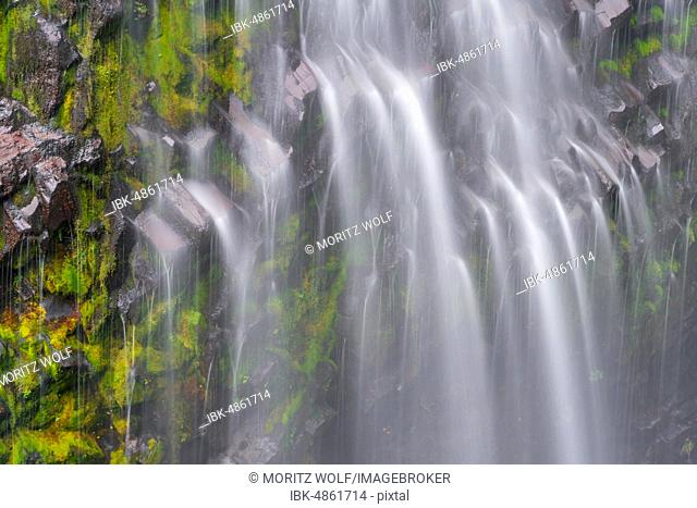 Narada Falls, waterfall, long exposure, Mount Rainier National Park, Washington, USA