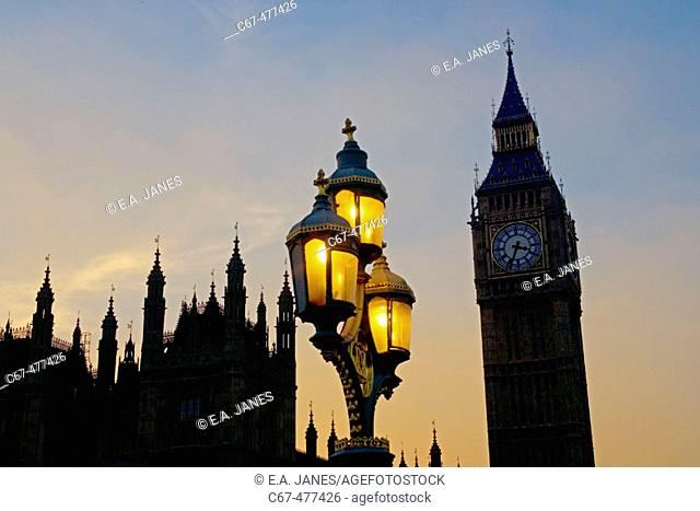 Houses of Parliament, London, England