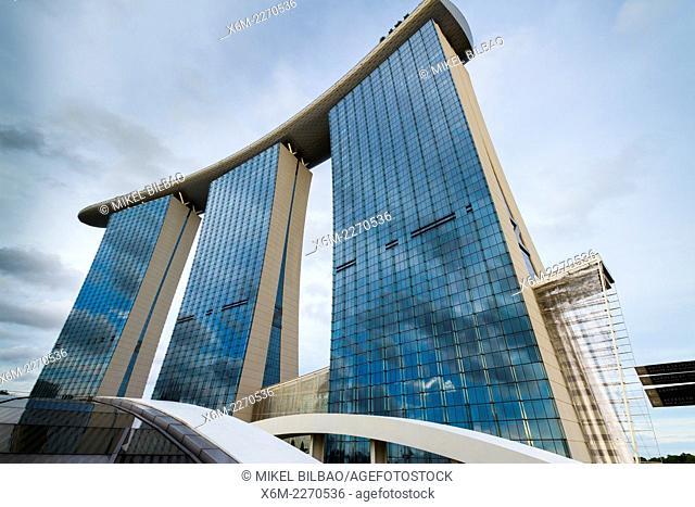 Marina Bay Sands hotel. Singapore, Asia