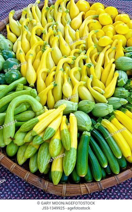 Organic produce at Farmers' Market, Arcata, California