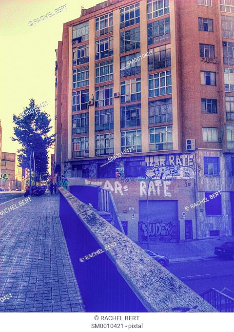 Urban Scene, 22@, Barcelona, Catalonia