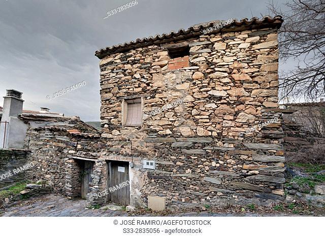 Patones de Arriba. Madrid. Spain. Europe