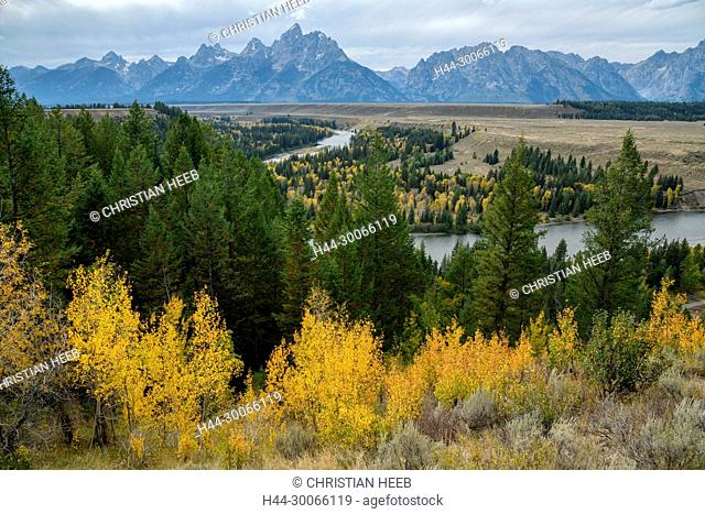 North America, American, USA, Rocky Mountains, West, Grand Teton National Park