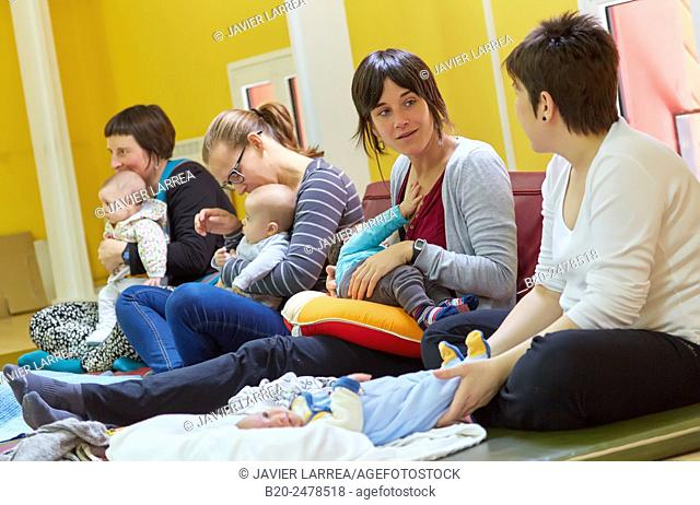 Mothers and Babies, breastfeeding education, Ambulatory Oiartzun, Gipuzkoa, Basque Country, Spain