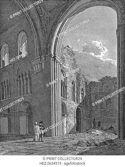 Church of St Bartholomew the Great in West Smithfield, City of London, 1822 (1906). Artist: Unknown