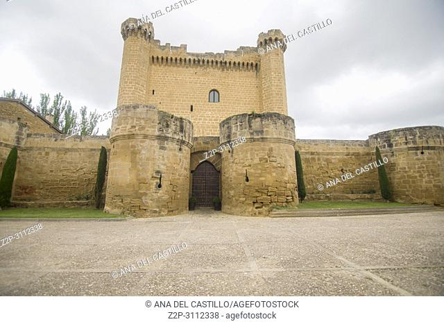 Castle in Sajazarra, La Rioja, Spain