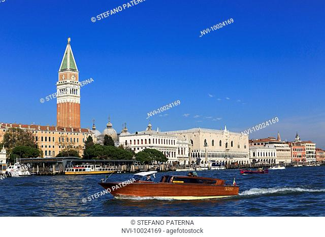 St. Mark's Square, Doge's Palace and Campanile, Venice, Italy