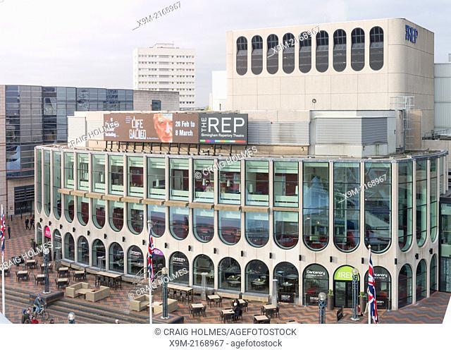 The Rep Theatre, Centenary Square, Birmingham