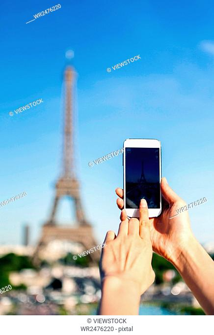 Shooting Eiffel Tower