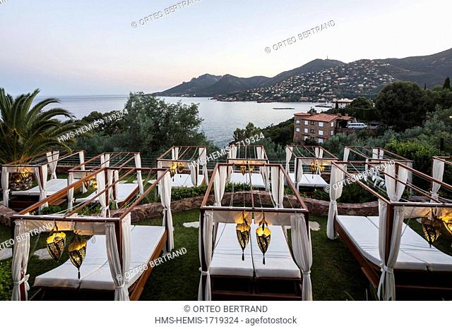 France, Alpes Maritime, Theoule sur Mer, Hotel 5 stars Tiara Yaktsa
