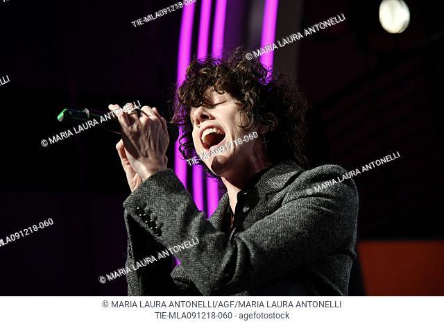 LP in concert at Rai Radio2, Rome, ITALY-09-12-2018