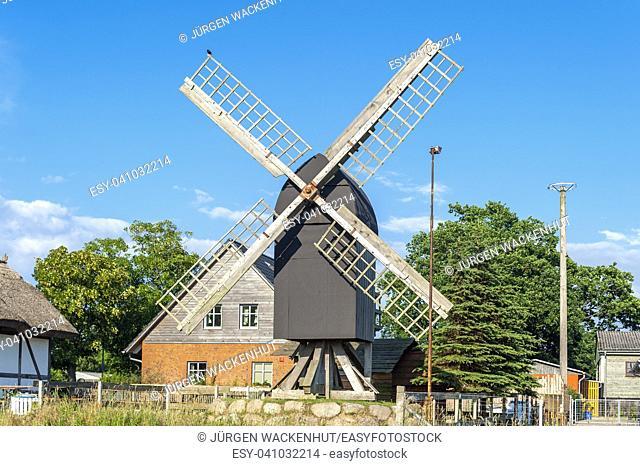 Grist mill in the part of town Altensien, Sellin, Ruegen, Mecklenburg-Vorpommern, Deutschland, Europe