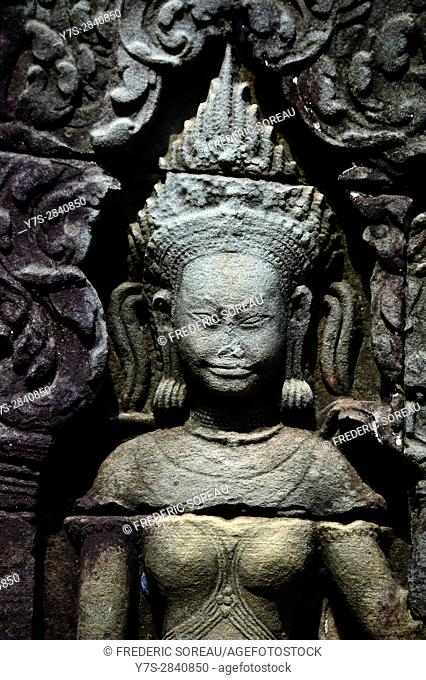 Banteay Kdei temple,Angkor,Siem Reap,Cambodia,Indochina,Southeast Asia,Asia