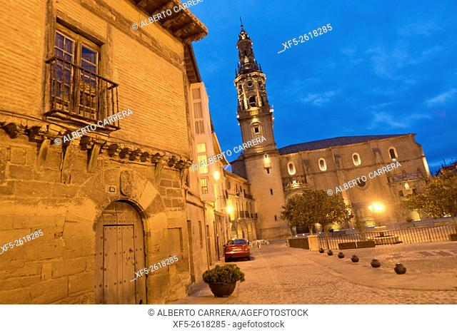 Church of Santa María de Briones, Renaissance Style, S. XVI, Briones, La Rioja, Spain, Europe