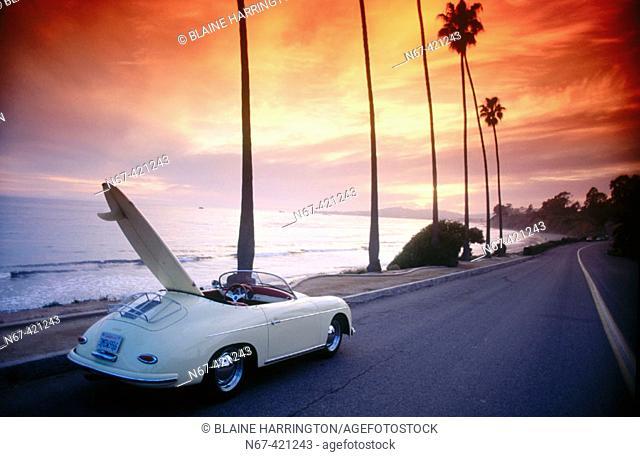 Porsche Speedster, Montecito. California, USA